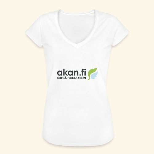 Akan Black - Vintage-T-shirt dam