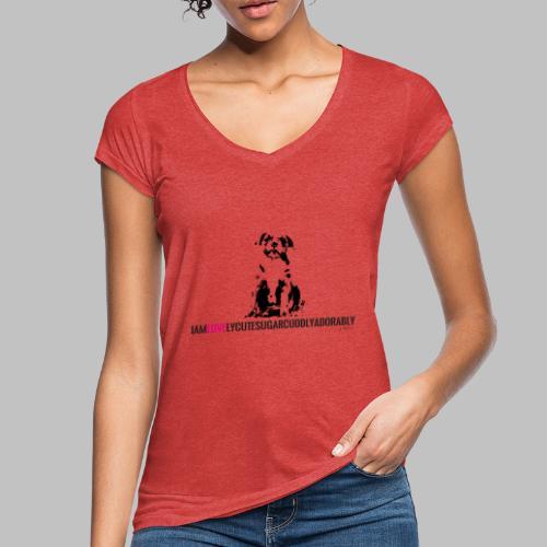 FRANZÖSISCHE BULLDOGE - WELPEN - LOVE - Frauen Vintage T-Shirt