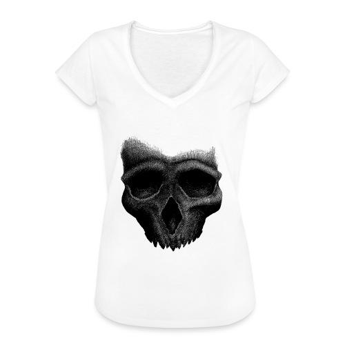 Simple Skull - T-shirt vintage Femme