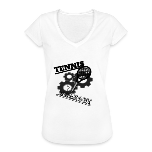 TENNIS WORKOUT - Women's Vintage T-Shirt