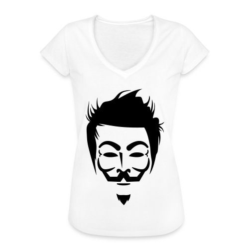 Anonymous Hipster - T-shirt vintage Femme
