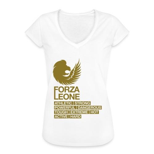 Power shirt - Forza Leone - Vrouwen Vintage T-shirt