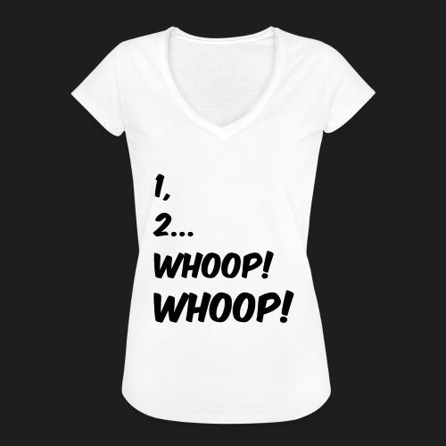 1, 2... WHOOP! WHOOP! - Maglietta vintage donna