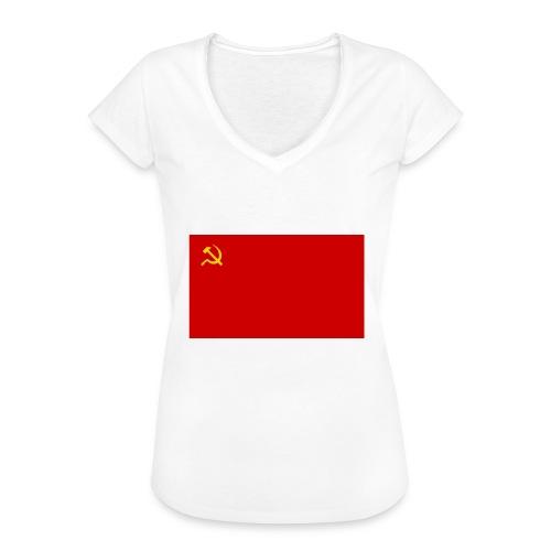 Eipä kestä - Naisten vintage t-paita