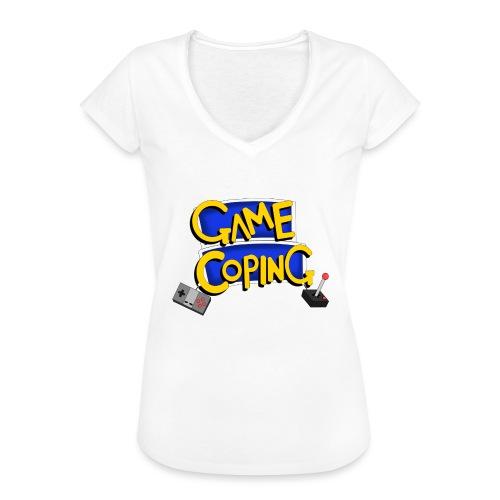 Game Coping Logo - Women's Vintage T-Shirt