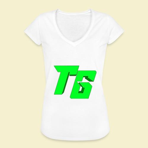 TristanGames logo merchandise [GROOT LOGO] - Vrouwen Vintage T-shirt
