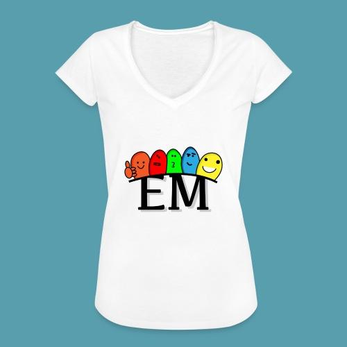 EM - Naisten vintage t-paita