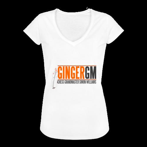 Ginger GM Logo - Women's Vintage T-Shirt