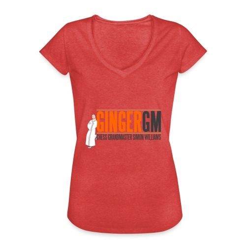 Ginger GM Logo - Women's Vintage T-Shirt