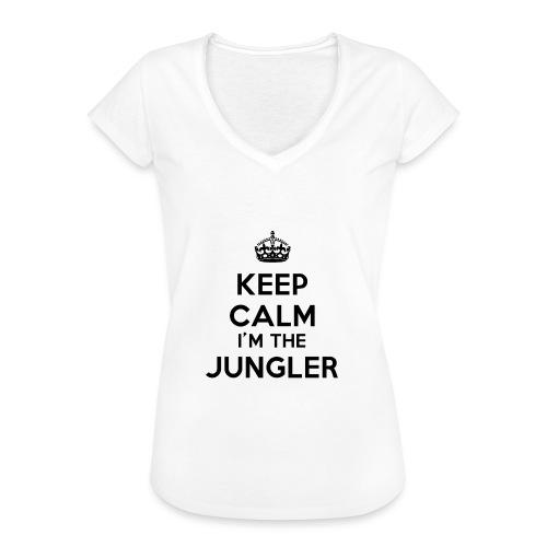 Keep calm I'm the Jungler - T-shirt vintage Femme