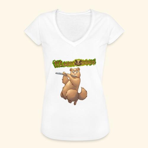 Tshirt Flute devant 2 - T-shirt vintage Femme