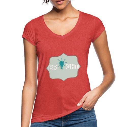 bright - Women's Vintage T-Shirt