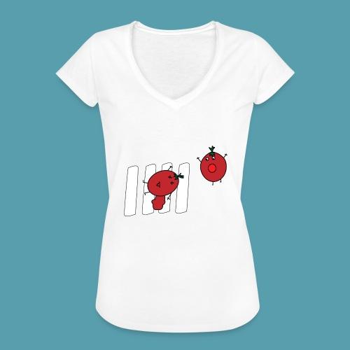 tomaatit - Naisten vintage t-paita