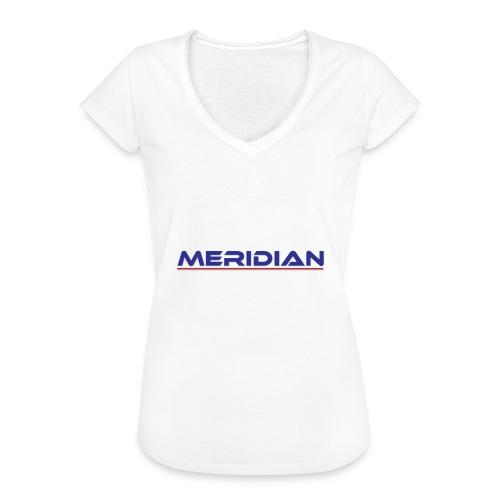 Meridian - Maglietta vintage donna