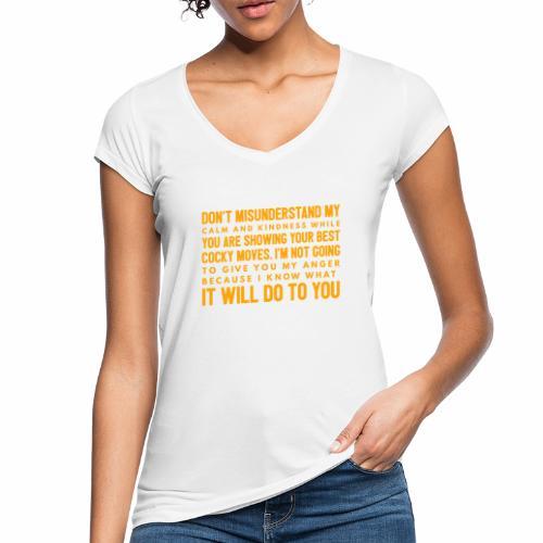 confidence - Dame vintage T-shirt