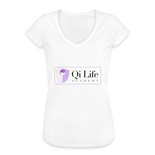 Qi Life Academy Promo Gear - Women's Vintage T-Shirt