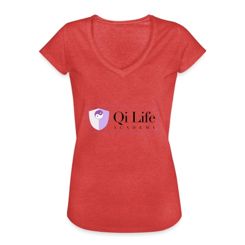 Qi Life Academy Promo Gear - Women's Vintage T-Shirt