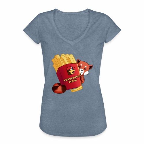 frittenfettSenpai - Frauen Vintage T-Shirt