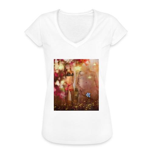 herbst Sinfonie - Frauen Vintage T-Shirt