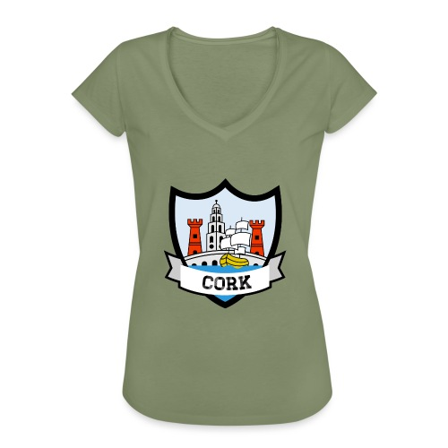 Cork - Eire Apparel - Women's Vintage T-Shirt
