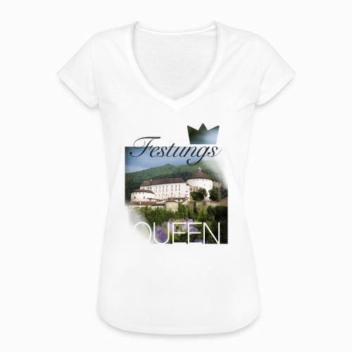 Festungsqueen - Naturfotodesign by Yasmin Embacher - Frauen Vintage T-Shirt