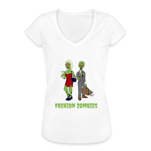 Fashion Zombie - Women's Vintage T-Shirt