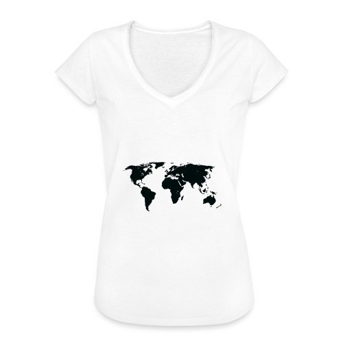 World - Dame vintage T-shirt