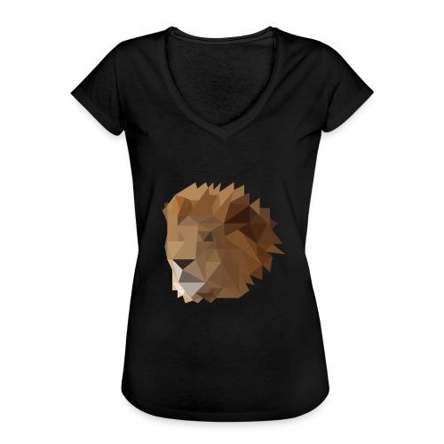 Löwe - Frauen Vintage T-Shirt