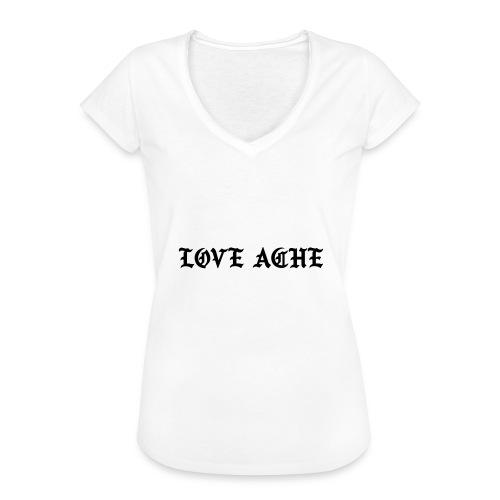 LOVE ACHE - Vrouwen Vintage T-shirt
