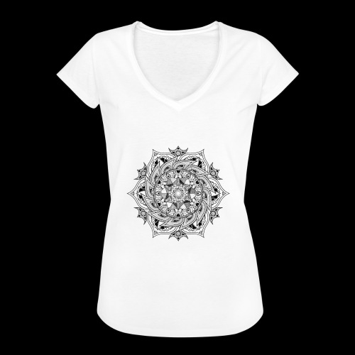 Mandala - Maglietta vintage donna