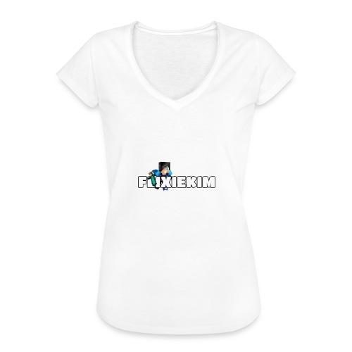 Flixiekim - Vintage-T-shirt dam