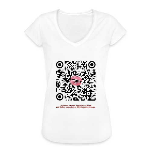 Stimmungsbarometer - Frauen Vintage T-Shirt