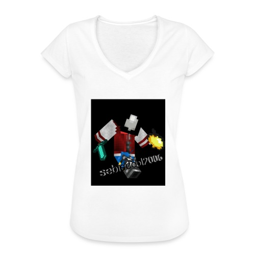 Sebastian yt - Dame vintage T-shirt