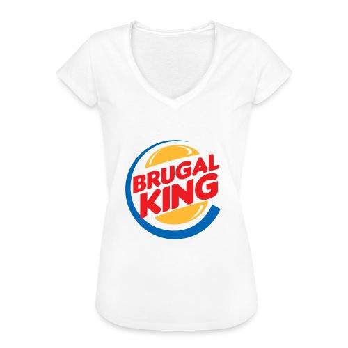 Brugal King - Camiseta vintage mujer