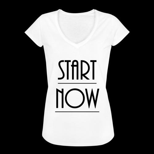 start now - Frauen Vintage T-Shirt