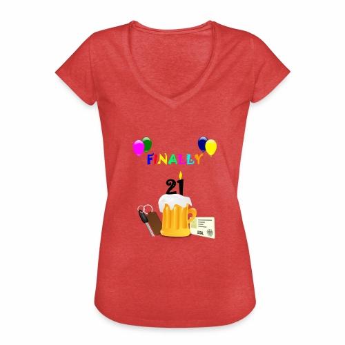 Finally 21 (2) - Women's Vintage T-Shirt