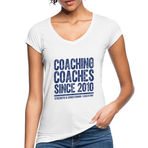 COACHING COACHES SINCE 2010 - Women's Vintage T-Shirt