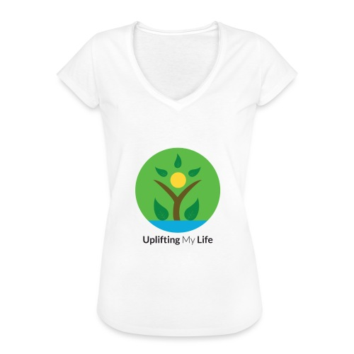 Uplifting My Life Official Merchandise - Women's Vintage T-Shirt