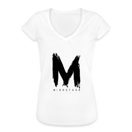 Logo Schwarz - Frauen Vintage T-Shirt