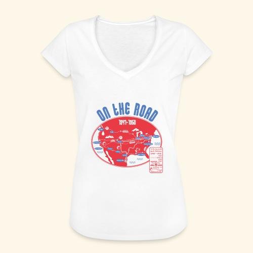 TShirtOntheRoad copy - Camiseta vintage mujer