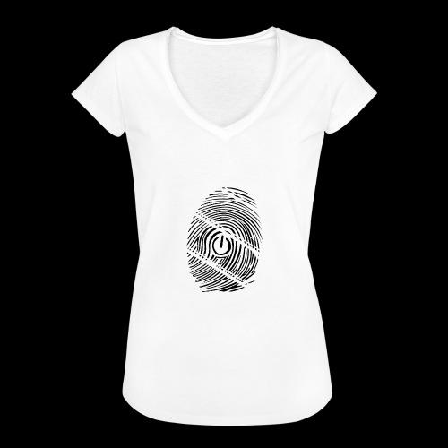 geek - T-shirt vintage Femme