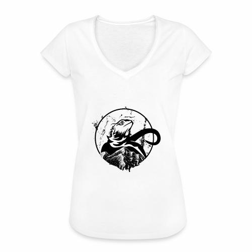 Bearded Dragon - Frauen Vintage T-Shirt