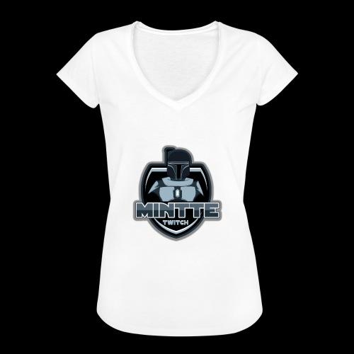Mintte - Frauen Vintage T-Shirt