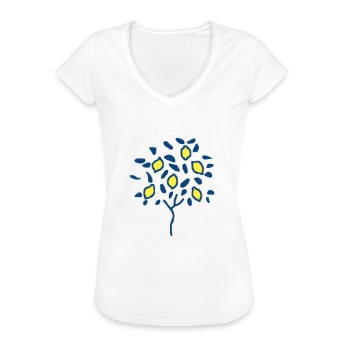 Citron - T-shirt vintage Femme