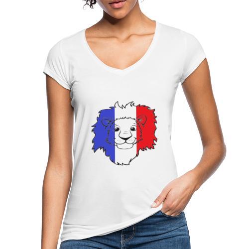 Lion France - T-shirt vintage Femme