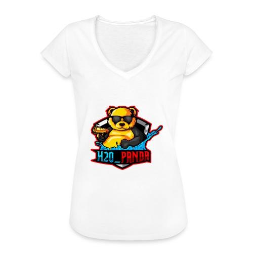 Pandas Loga - Vintage-T-shirt dam