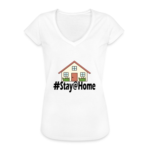 StayHome - Vrouwen Vintage T-shirt