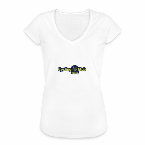 Cycling Club Rontal - Frauen Vintage T-Shirt
