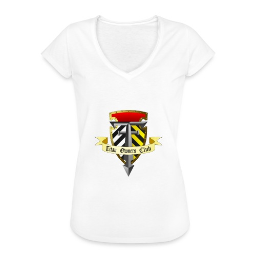 TOC Gothic Clear Background 1 - Women's Vintage T-Shirt