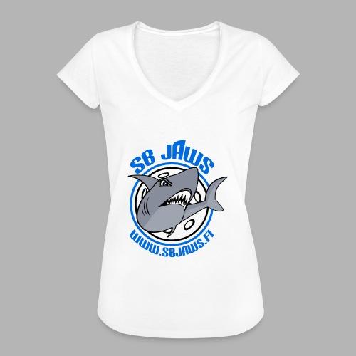 SB JAWS - Naisten vintage t-paita